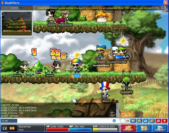 maple_smaller1 In order to depart get mapleStory mesos previously and I think