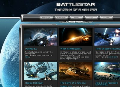 Battlestar | Online Browser Space Game