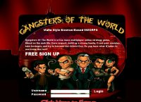 Gangsters of the World:: Massive Multiplayer Online RPG
