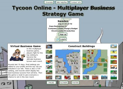 Tycoon Online