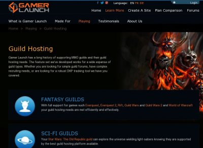 Guild Hosting Services