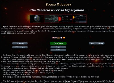 Space Odyssey MMORPG
