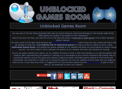 Unblocked Games Room