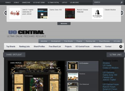 UO CENTRAL | Ultima Online Freeshard Resource