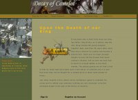 Decay of Camelot, a Medieval RPG Massive Multiplayer Online Game