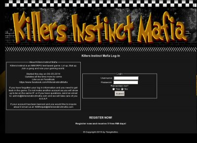 Killers Instinct Mafia