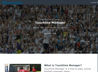 Touchline Manager