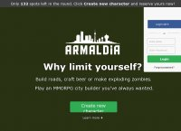 Armaldia - the best free MMORPG social city builder browser game
