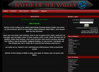 Battle Of The Valley