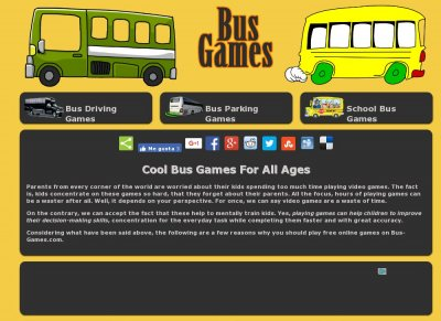 Bus Games - Play Bus Games Online For Free