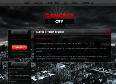 Gangsta City
