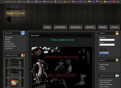 Apex Web Gaming - Stats - Mafia 2 RPG Multiplayer MMORPG Mafia