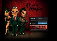 Raven Mafia - Massive Multiplayer Online Role Playing Game - Login