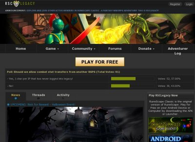 Apex Web Gaming Stats Rsclegacy Middot Free Old School Runescape