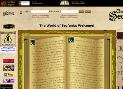 The World of Secfenia