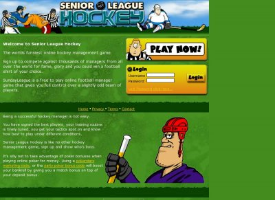 Senior League Hockey