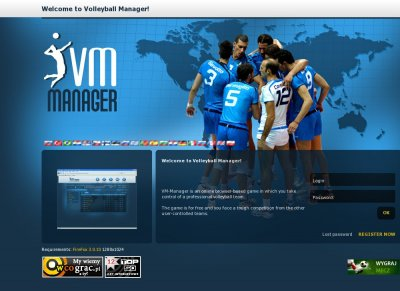 VM-Manager: VolleyBall Online Manager